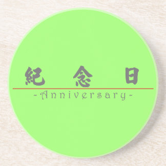 Chinese word for Anniversary 10286_4 pdf Beverage Coasters