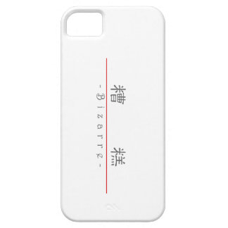 Chinese word for Bizarre 10075_2.pdf iPhone 5 Case