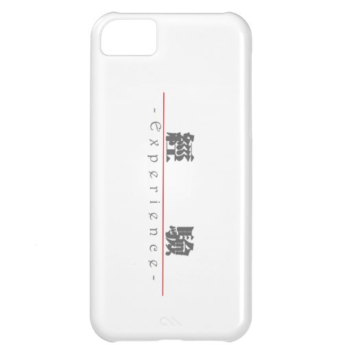 Chinese word for Experience 10156_3.pdf iPhone 5C Cover