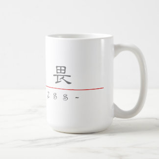 Chinese word for Fearless 10320_2.pdf Mug