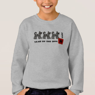 Chinese Year of the Dog Kids Sweatshirts