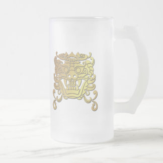 Chinese Year of the Dragon Frosted Glass Mug