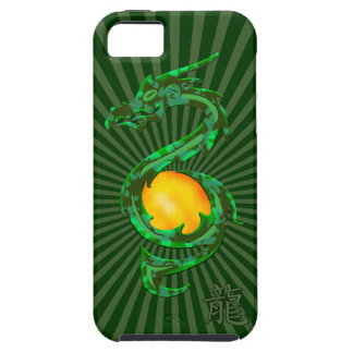 Chinese Year of the Dragon Jade Green iPhone 5 Cover