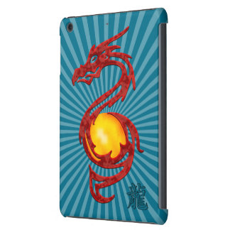 Chinese Year of the Dragon Metalic Red iPad Mini Cases