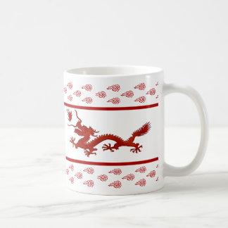 Chinese Year of the Dragon Basic White Mug
