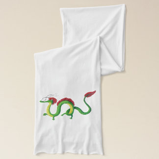 Chinese Year of The Dragon Scarf