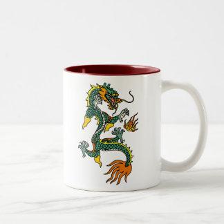 Chinese Year of the Dragon Two-Tone Mug