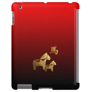 Chinese Year of the Horse Gift  iPad 2/3/4 Cases