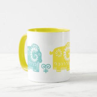 Chinese Year of the Ram Fun Gift Mugs