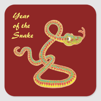 Chinese Year of the Snake Stickers