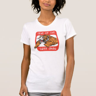 Chinese Year of The Tiger 1986 T-Shirts