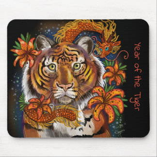 Chinese Year of the Tiger Mouse Pad