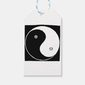 Chinese Yin Yang Symbol Gift Tags