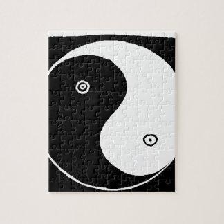 Chinese Yin Yang Symbol Jigsaw Puzzle