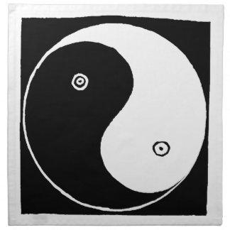 Chinese Yin Yang Symbol Napkin