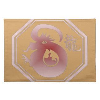 chinese zodiac dragon placemat