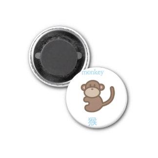 Chinese Zodiac Monkey Refrigerator Magnet