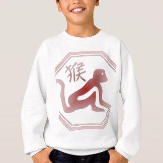 chinese zodiac monkey sweatshirt