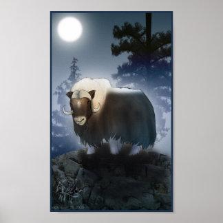 Chinese Zodiac Ox Poster