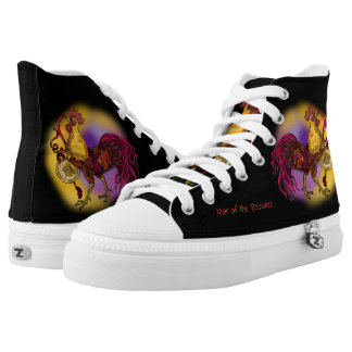 Chinese  Zodiac Rooster High Tops