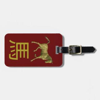 Chinese Zodiac Sign: Horse Luggage Tag