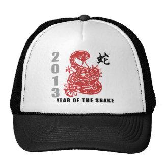 Chinese Zodiac Snake 2013 Mesh Hats