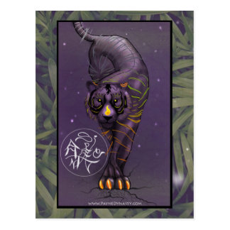 Chinese Zodiac Tiger Postcard