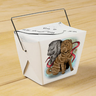 Chinese Zodiac Year of the Dog Favour Box