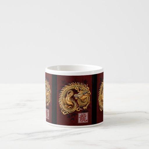 Chinese Zodiac Year of the Dragon Espresso Mug