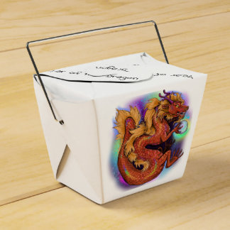 Chinese Zodiac Year of the Dragon Favour Box