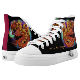 Chinese Zodiac Year of the Dragon High Tops