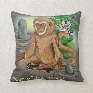 Chinese Zodiac Year of the Monkey Cushion