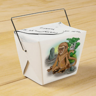 Chinese Zodiac Year of the Monkey Favour Box