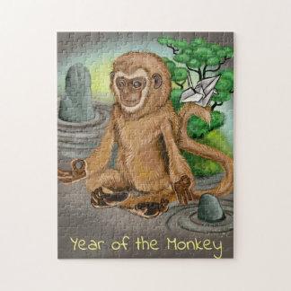 Chinese Zodiac Year of the Monkey Jigsaw Puzzle
