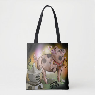 Chinese Zodiac Year of the Pig Tote Bag