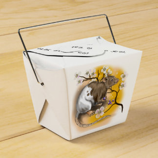 Chinese Zodiac Year of the Rat Favour Box