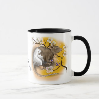 Chinese Zodiac Year of the Rat Mug