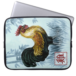 Chinese Zodiac Year of the Rooster Laptop Sleeve