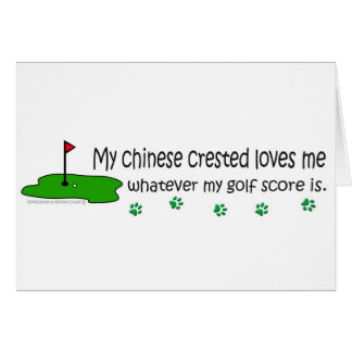 ChineseCrested Card