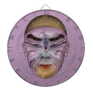 Chinise Transformation 1 Dartboard With Darts