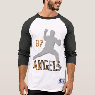 Chino Hills Angels 3/4 Sleeve Coach's Raglan T-Shirt