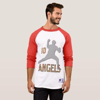 Chino Hills Angels 3/4 Sleeve Raglan T-Shirt