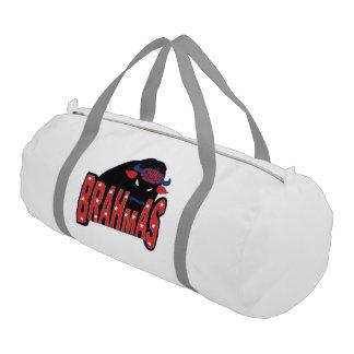 Chino Valley Brahmas White Duffle Bag
