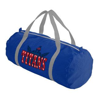 Chino Valley Titans Blue Duffle Bag