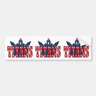 Chino Valley Titans Bumper Sticker
