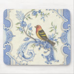 Chinoiserie Bird Mousepad from Kate McRostie