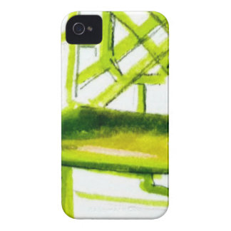 chinoiserie chair for place card Case-Mate iPhone 4 cases