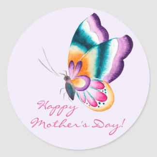 Chinoiserie Flowers | Happy Mother's Day Stickers