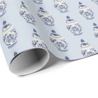 Chinoiserie Ginger Jar by Redux121DesignStudio Wrapping Paper