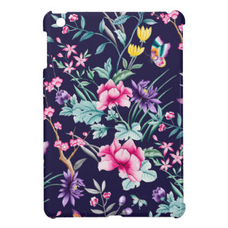 CHINOISERIE - NAVY BASE COVER FOR THE iPad MINI